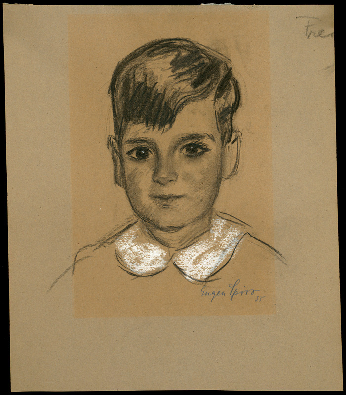 Portrait of Fred Goldstein (3 years old)