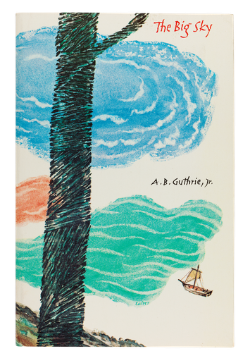 Alfred Bertram Guthrie, <i> The Big Sky, 1980, cover designed by George Salter