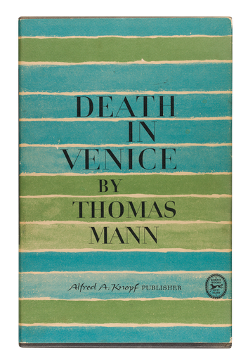 Thomas Mann, Death in Venice, cover designed by George Salter