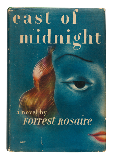 East of Midnight, 1946, book jacket designed by  George Salter
