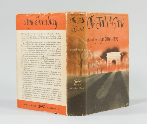 The Fall of Paris, 1943, jacket designed by George Salter