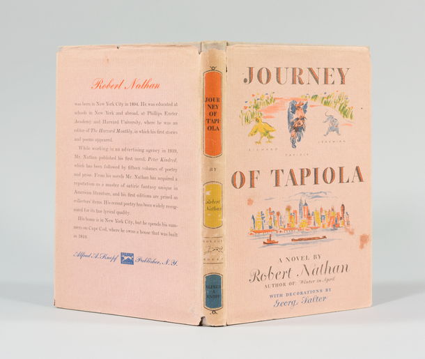 Journey of Tapiola, 1946, dust jacket designed by George Salter