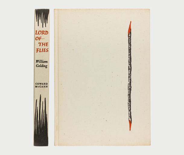 Lord of the Flies, 1962, cover designed by  George Salter