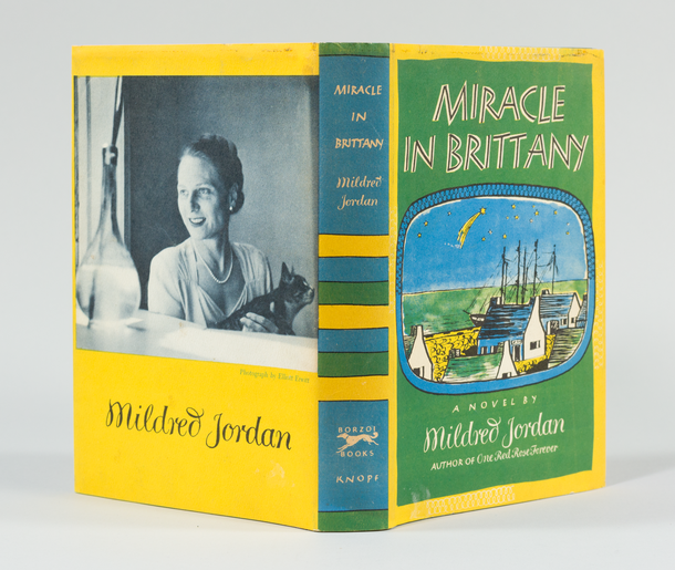 Miracle in Brittany, 1950, dust jacket designed by George Salter