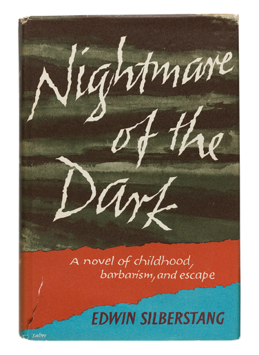 Nightmare of the Dark,  1967, dust jacket designed by George Salter1967