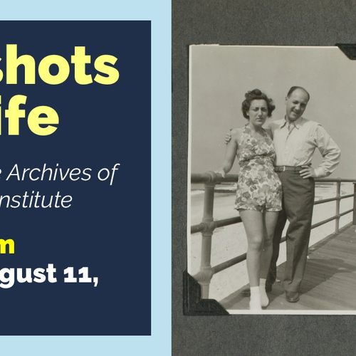 Snapshots of a Life Advertisement