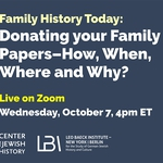 Family History Today Poster