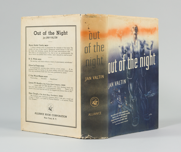 Out of the Night, 1941 - dust jacket designed by George Salter