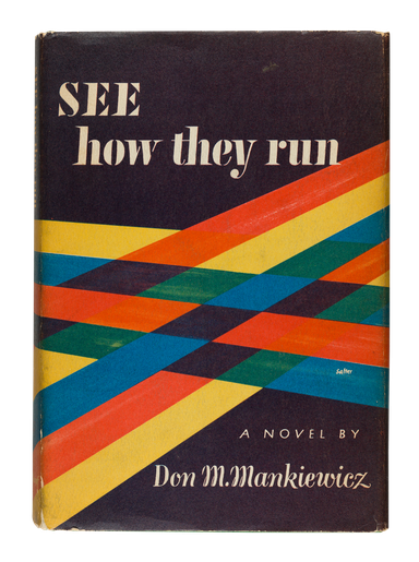 See How They Run, 1951, cover designed by George Salter