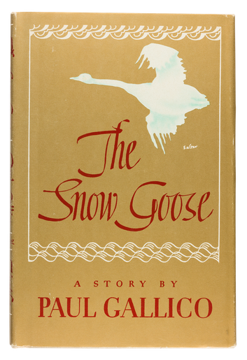 The Snow Goose, 1941, cover designed by George Salter
