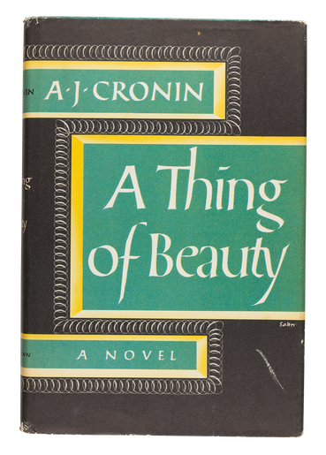 A Thing of Beauty, 1956, cover designed by George Salter