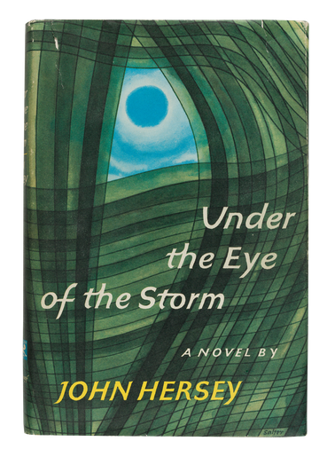 Under the Eye of the Storm, 1967, cover designed by George Salter