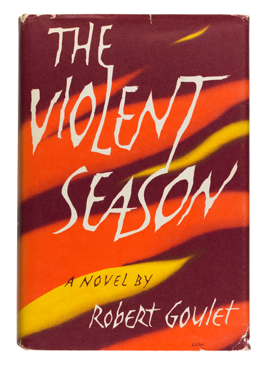 The Violent Season, 1961, cover designed by George Salter