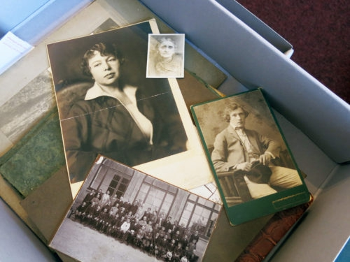 Diverse photographs in the records of the Jewish community of Lugoj, Romania