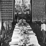 Passover Seder at the Guggenheim residence, 1937