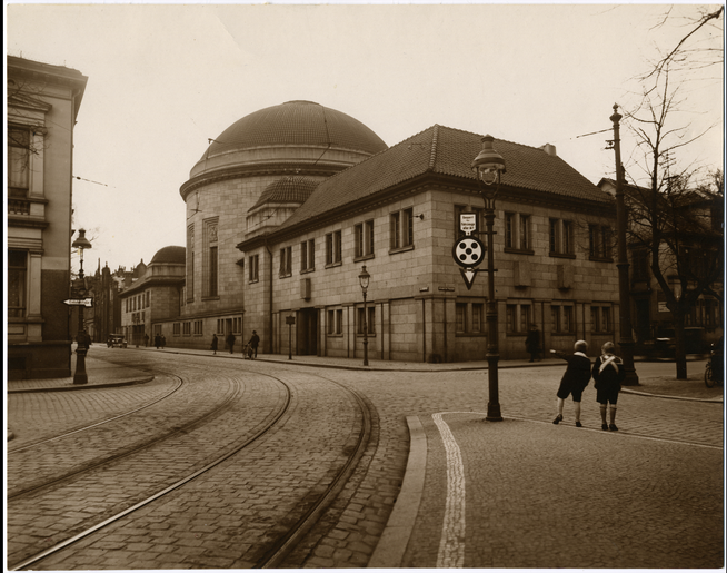 Synagogue in Offenbach at Goethestrasse 5, after 1916