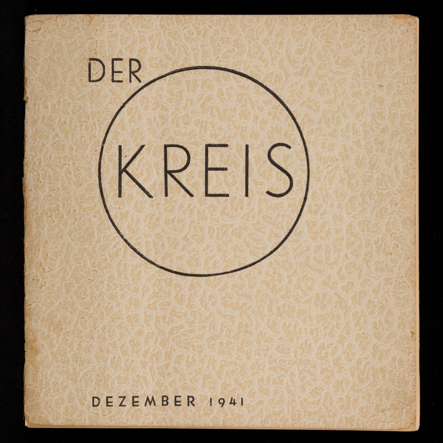 The arts publication <i>Der Kreis</i>