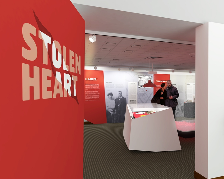 Stolen Heart Exhibition