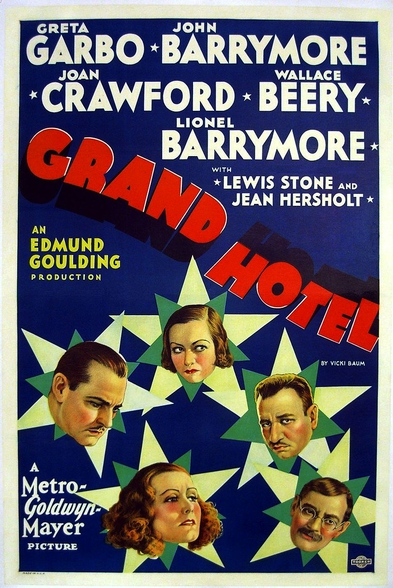 Grand Hotel Film Poster