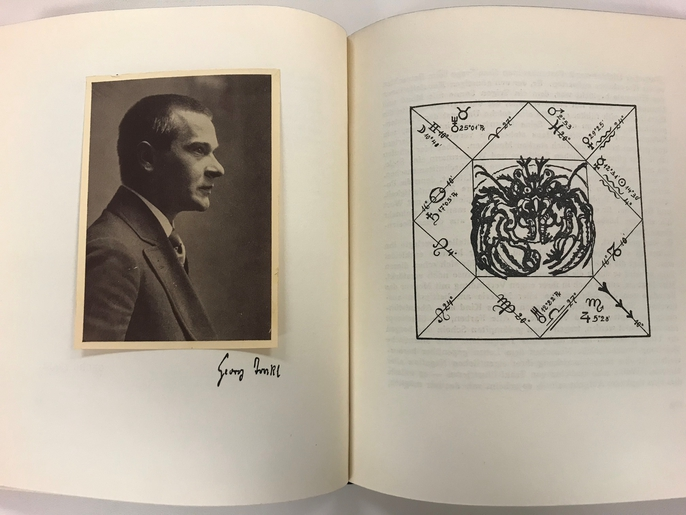 Georg Trakl's horoscope