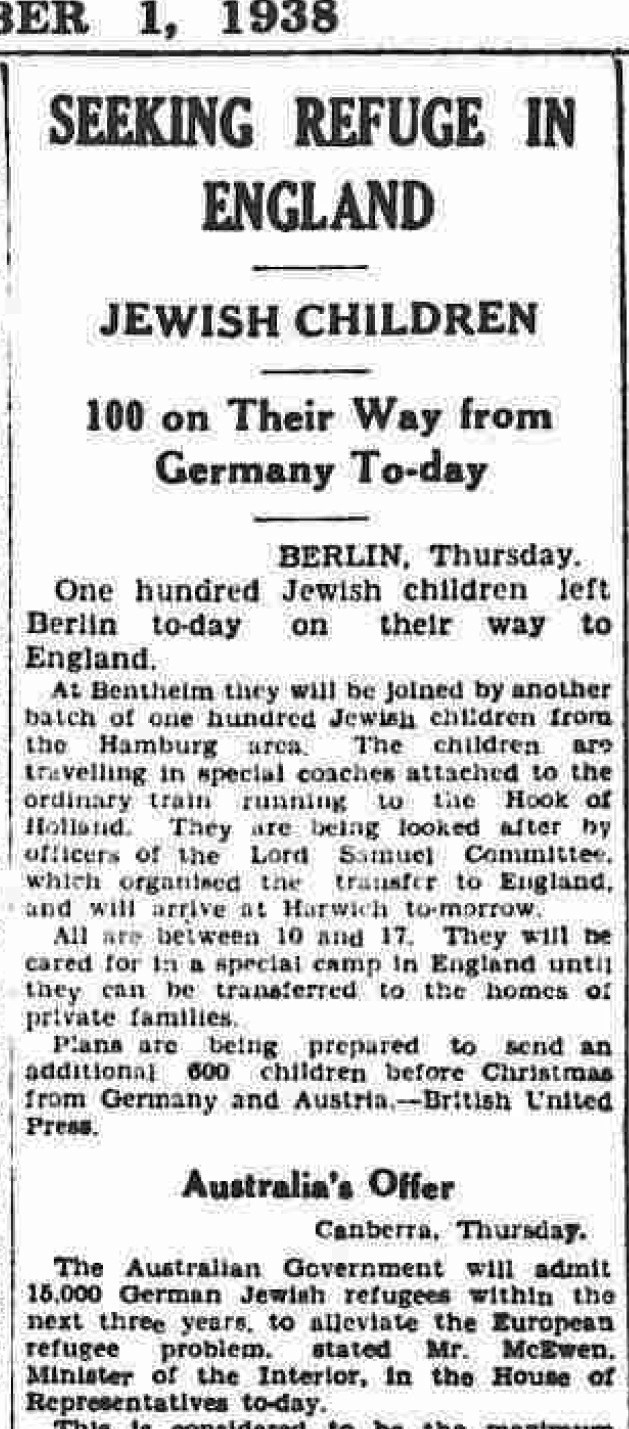 Kindertransport-article-Yorkshire-Evening-Post-Dec.-1-1938-100-children-from-Berlin.jpg
