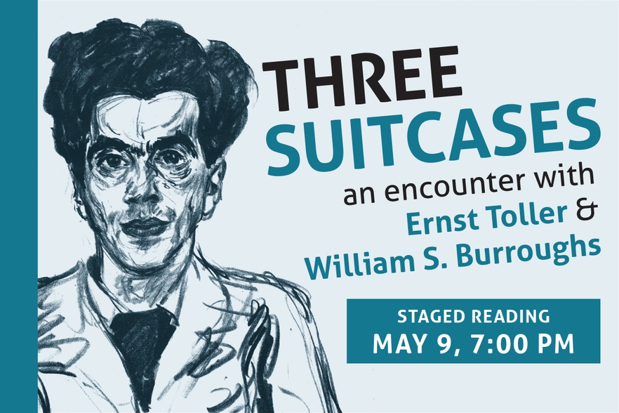 Three Suitcases—An Encounter with Ernst Toller & William S. Burroughs - Poster