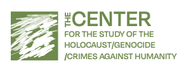 Center for the Study of the Holocaust, Genocide, and Crimes Against Humanity at the Graduate Center—City University of New York logo