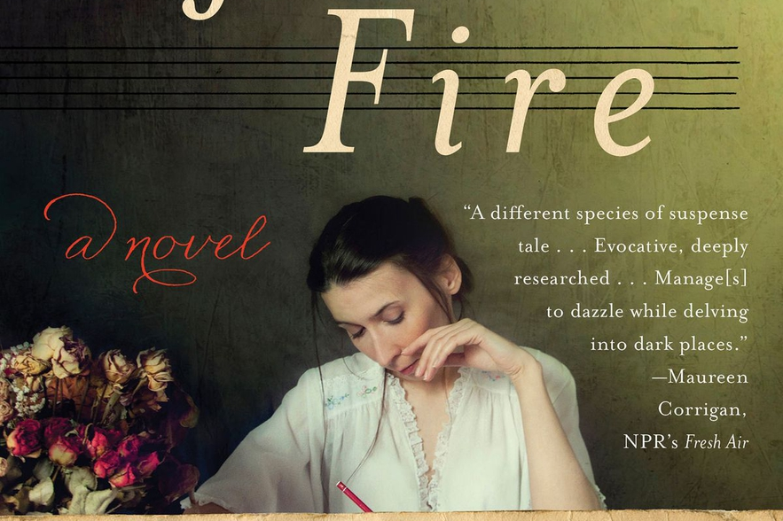 """And after the Fire"" Book Cover"