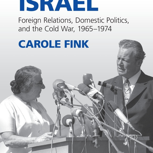 "Cover of ""West Germany and Israel"" by Carole Fink"