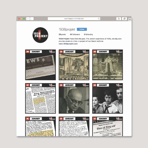 1938Projekt tiled instagram posts