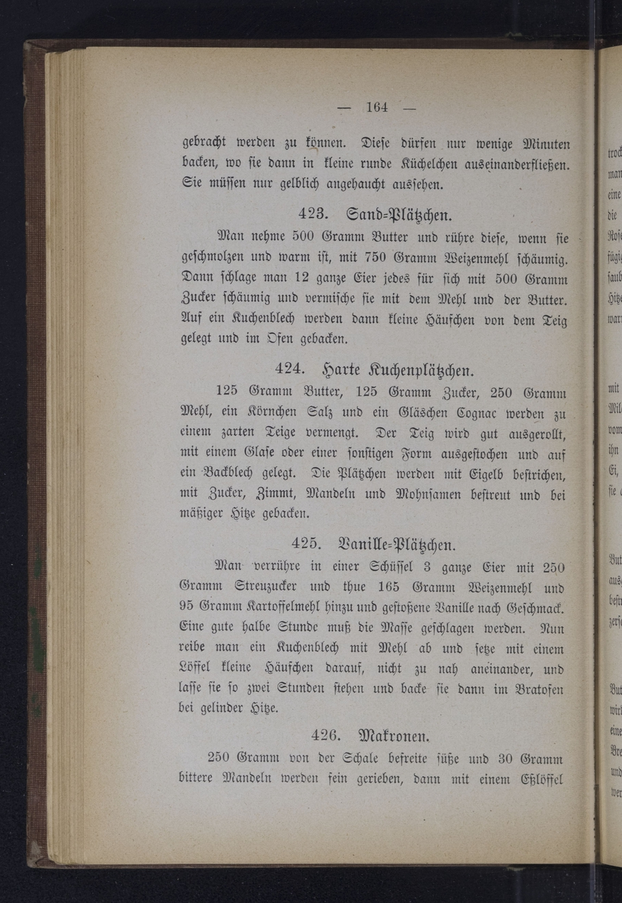 Different recipes for Plaetzchen from Rebekka Wolf