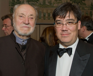 Kurt Masur and Alan Gilbert