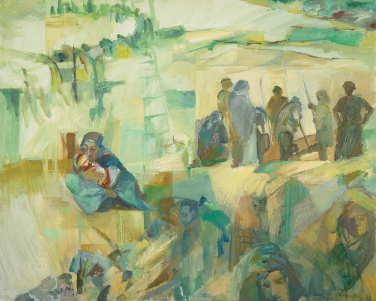 """Refugees"" By Nora Kronstein Rosen"