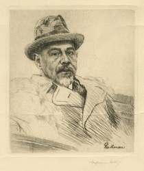 Portrait of Walther Rathenau