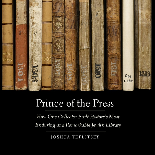 Cover of Prince of the Press by Joshua Teplitsky